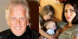 """Andrés Nara conoció a su nieto Viggo, a un año de su nacimiento: """"Ellos dicen que es parecido a mí"""""""