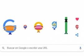 """Prevención COVID-19: """"Usa tapabocas y salva vidas"""", pide Google en el doodle del día"""