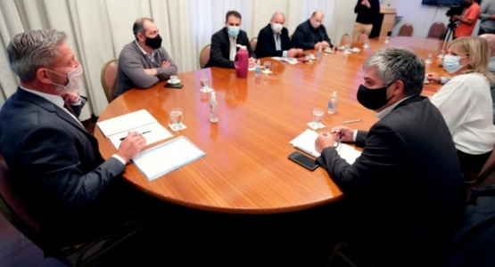 Emergencia Ígnea: Arcioni se reunió con su gabinete