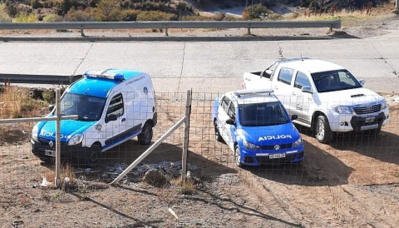 En el lugar del percance fue solicitada la presencia del personal policial de la División Comisaría Río Turbio.