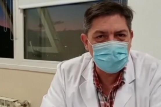"""Primeras declaraciones desde el SAMIC. """"No hay vacunatorio VIP en El Calafate"""""""