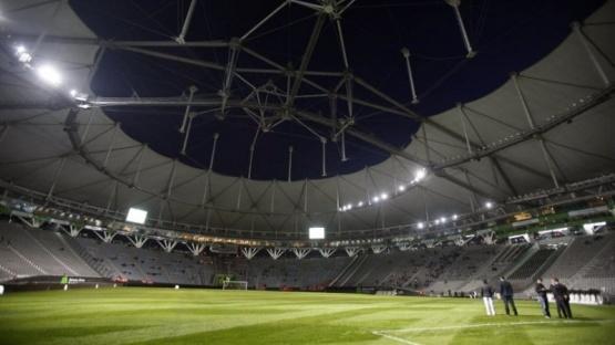 El estadio Ciudad de La Plata.