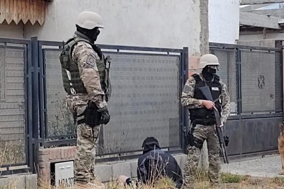 Las actuaciones del caso estuvieron a cargo del personal de la Séptima, Comisaría de la Mujer y Fuerzas Especiales.