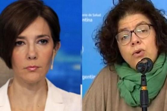 Fuerte cruce entre Cristina Pérez y Vizzotti por las vacunas