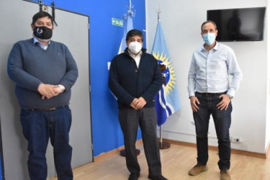 Autoridades de Salud se reunieron con el interventor de la Caja de Servicios Sociales