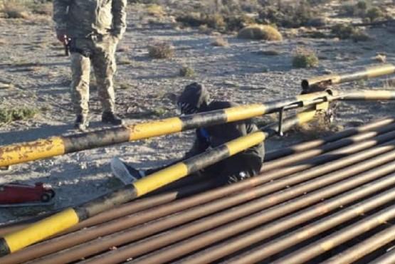 Se llevó a cabo un operativo de rescate en la localidad de Las Heras.