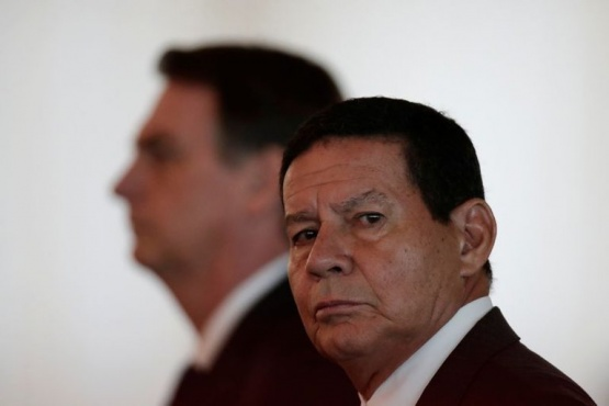 El vicepresidente de Brasil, Hamilton Mourão