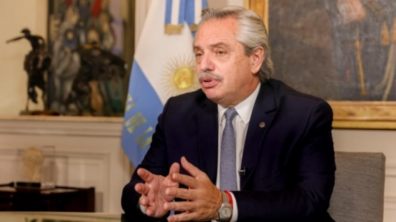 Alberto Fernández aseguró que se aumentará el ritmo de vacunación