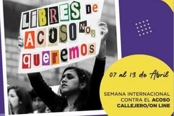 Es la Semana Internacional Contra el Acoso Callejero.