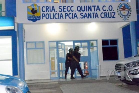 Comisaría Quinta de Caleta Olivia (Foto: LVDS).