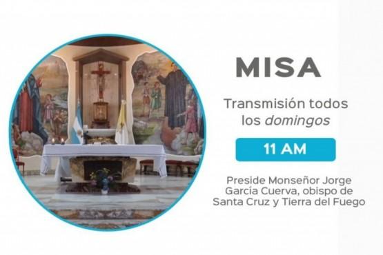 Se transmitirá la Misa del Domingo en todo Santa Cruz