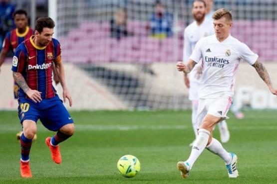 Real Madrid - Barcelona, por La Liga: formaciones, hora y TV