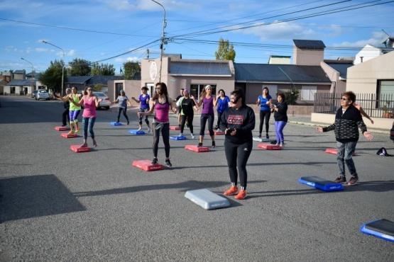 """El Barrio Jorge Newbery de Río Gallegos disfrutó a pleno de """"Deporte en tu barrio"""""""