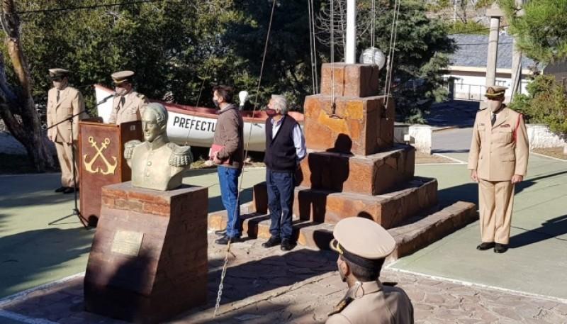 Acto en homenaje al suboficial Ricardo Soto.