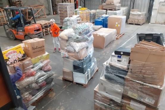 Gran juntada de material para reciclar en Río Gallegos