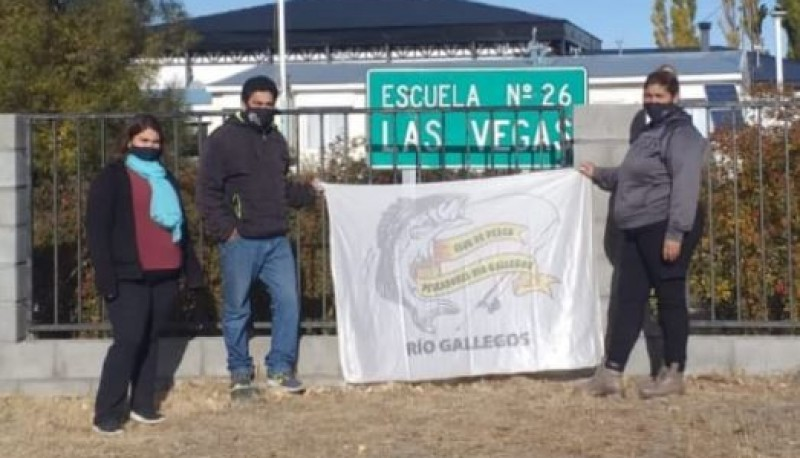 Acciones solidarias del Club de Pescadores.