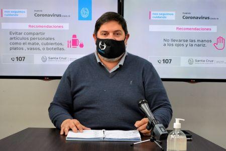 """Ezequiel Verbes: """"Mañana comienza la vacunación a las personas mayores de 60 años"""""""