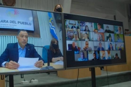 Lo presentó la diputada Rocío García.