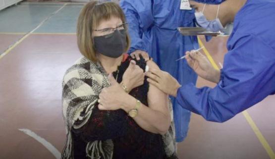 Vacunación en Río Gallegos.