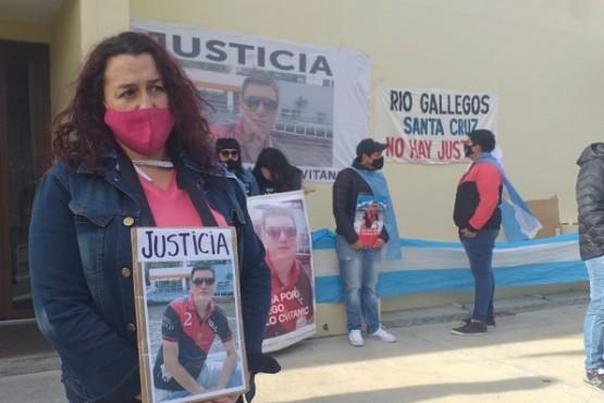 Soraya Cvitanic afuera de la Cámara Oral en lo Criminal (Foto: C.Robledo)