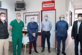 El Ministro de Salud dijo que Caleta Olivia hace un trabajo destacado en la prevención y control de la Pandemia