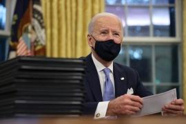 Alberto Fernández recibió los buenos deseos de Joe Biden