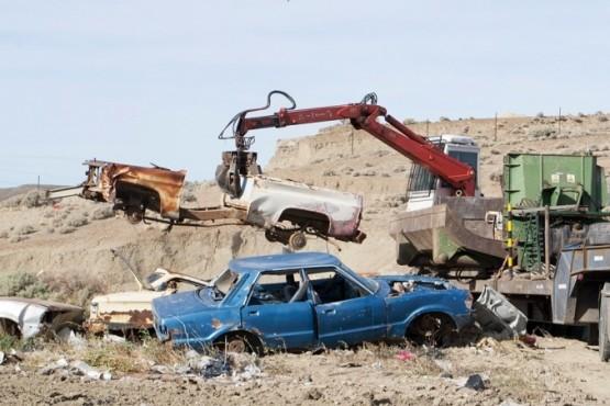 El Municipio de Caleta Olivia  avanza con el saneamiento del Vertedero, luego de años de abandono
