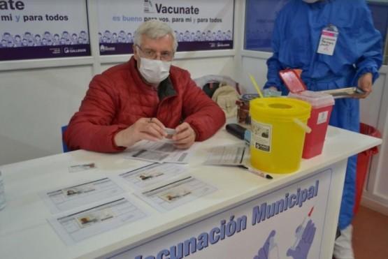 Sigue la campaña de vacunación.