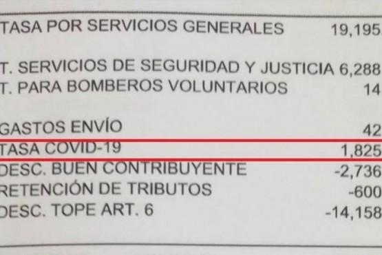 """Qué es la """"tasa Covid-19"""", el nuevo impuesto que ya cobra un municipio"""