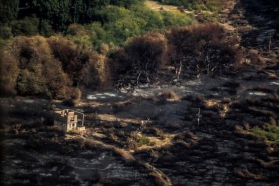 El incendio en Las Golondrinas se encuentra extinguido