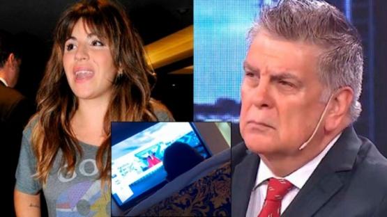Fuerte reacción de Gianinna Maradona ante los dichos de Luis Ventura
