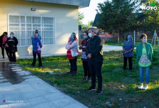 Inauguraron un nuevo jardín de infantes en El Hoyo