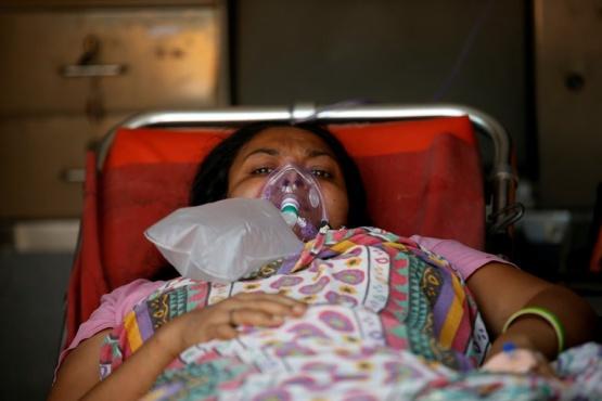 En la India hubo más de 200 mil casos en un solo día