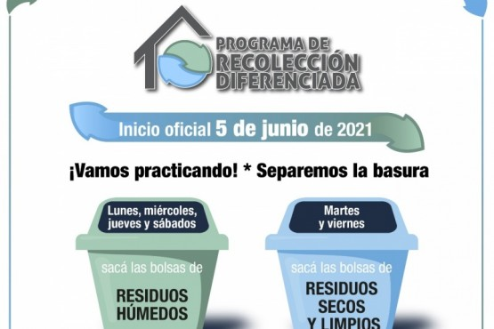 Recolección diferenciada: El éxito del programa depende de la participación ciudadana