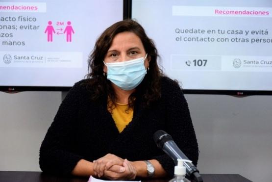María Inés Basualdo, directora Provincial de Enfermería.