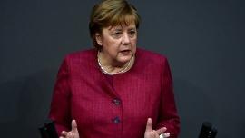 Merkel defendió las restricciones más dura