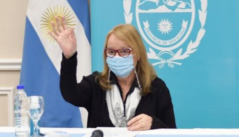 Alicia Kirchner participó del acto de inauguración de la nueva sede del SACRA en Zona Norte