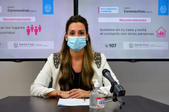 Directora Provincial de Determinantes de la Salud, Laura Ibáñez.