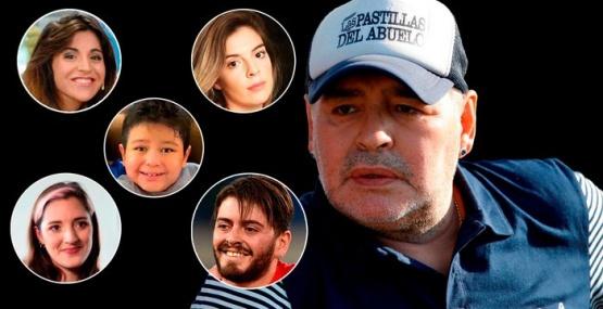 Los herederos de Diego Maradona no cumplen con su voluntad