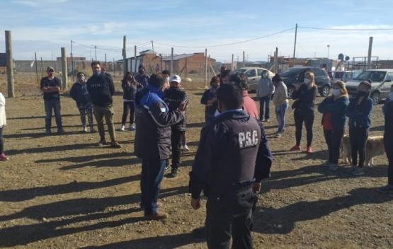 Disputa entre vecinos y denuncia de usurpación en Río Gallegos