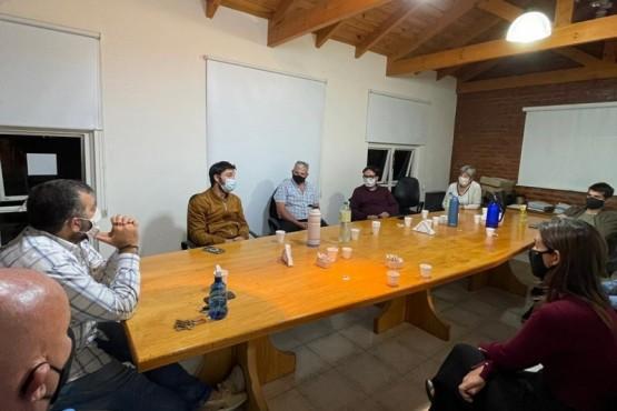 Ignacio Torres se reunió con la Cámara de Comercio de Puerto Madryn en el marco del proyecto de Reactivación Productiva