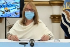 """Alicia Kirchner: """"Los hospitales modulares son una necesidad determinada por la pandemia"""""""