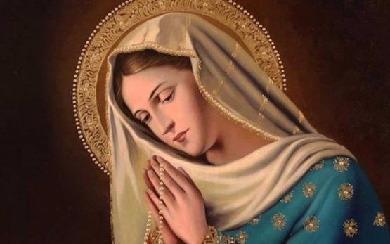 """La Virgen María fue nombrada """"comisaria general"""" de la Policía Federal"""