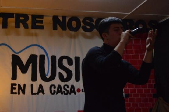 La Casa X la Música de Río Gallegos recibió la visita Zeta