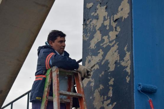 Continúan las obras públicas en Río Gallegos