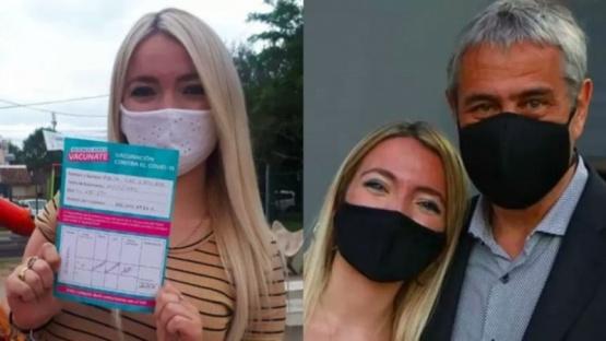 Becaria de 18 años vacunada: Jorge Ferraresi rompió el silencio