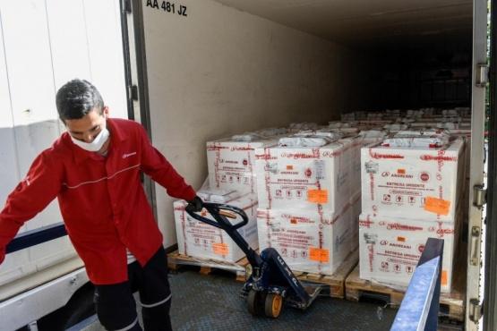 Llegan mañana otras 9 mil dosis de la vacuna Sputnik Va Chubut