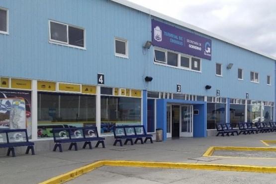 Terminal de Ómnibus de Río Gallegos.