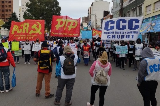 Reclamo y corte de ruta 3 en solidaridad con trabajadores de Neuquén y Tucumán