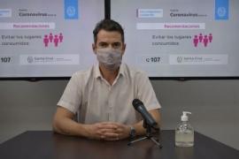 """Suárez Moré: """"Se vacunará a 50 mil personas con enfermedades graves"""""""